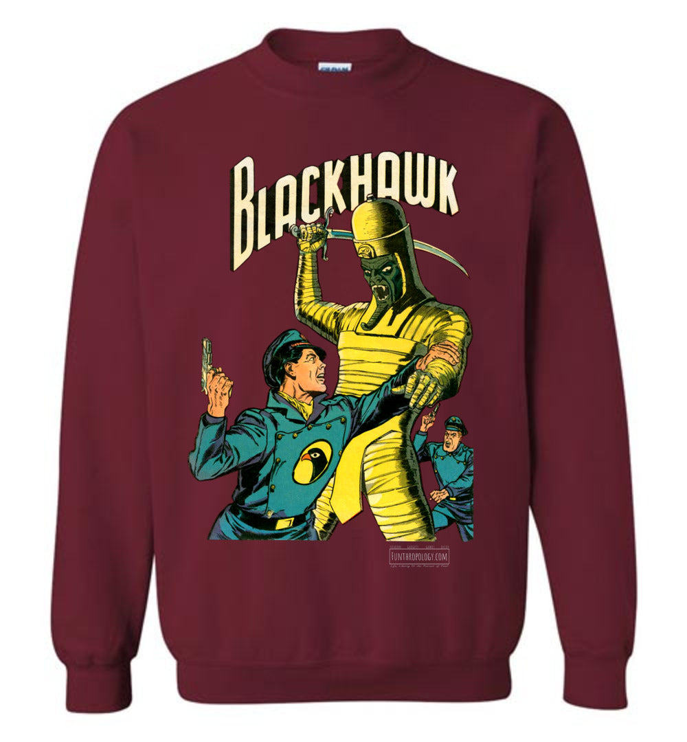 Blackhawk No.53 Sweatshirt (Unisex, Dark Colors)