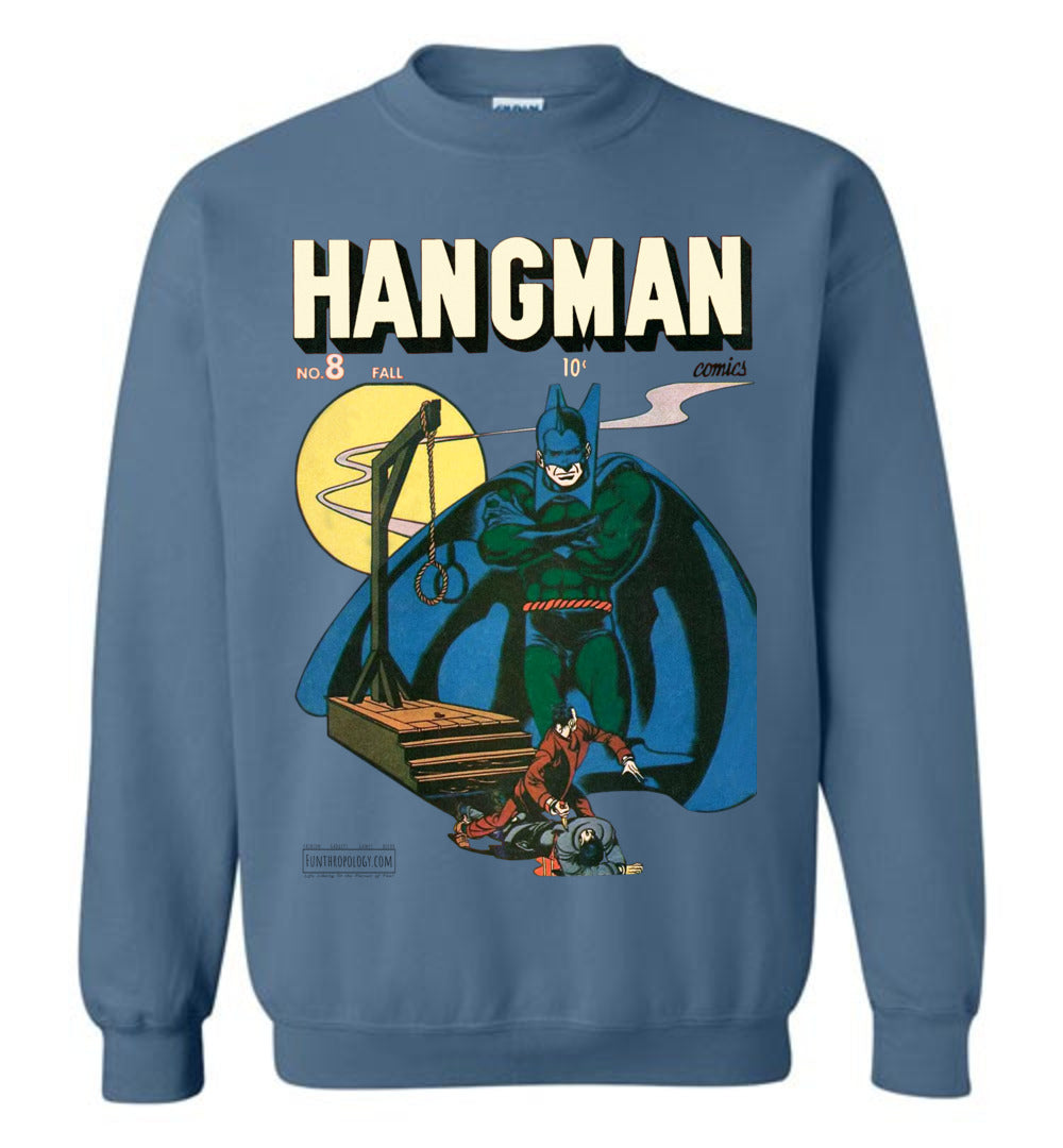 Hangman No.8 Sweatshirt (Unisex, Light Colors)