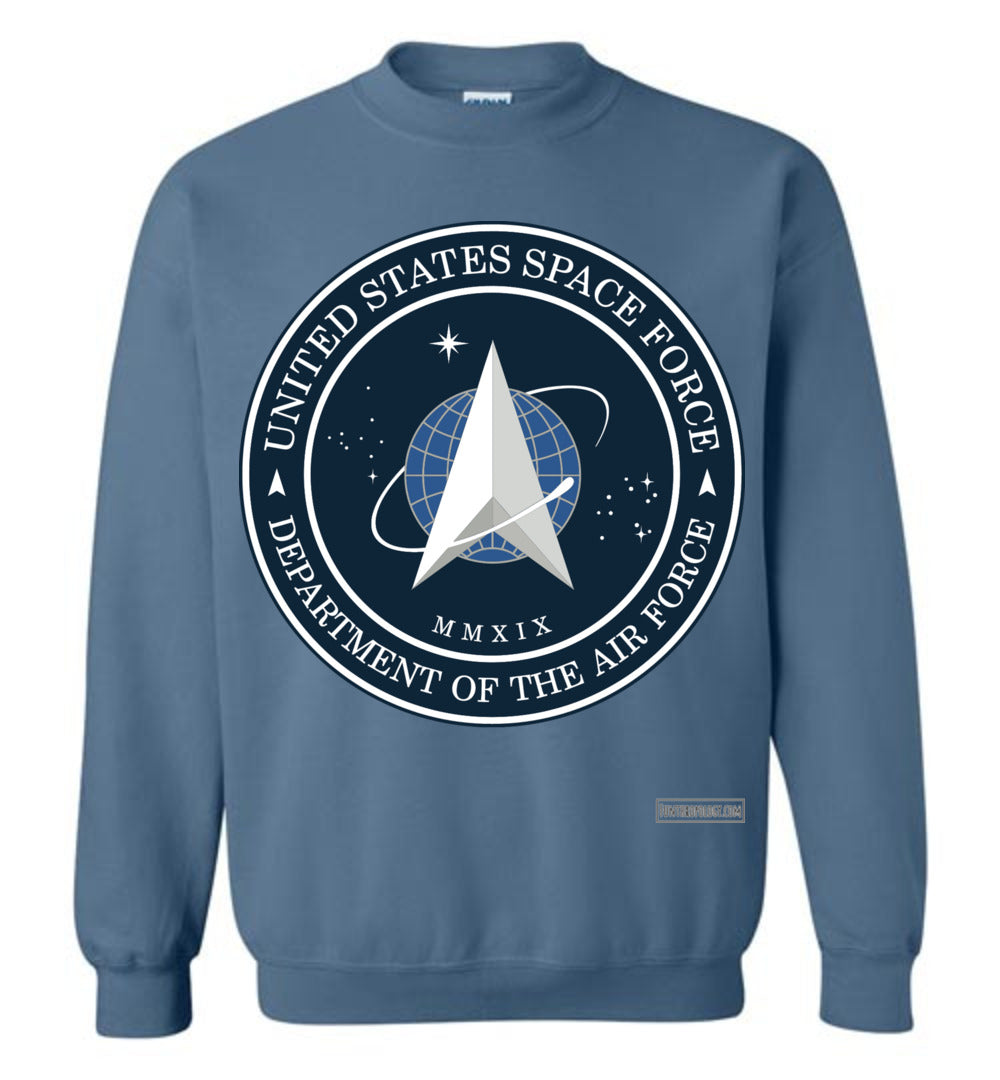 Space Force - Official Insignia Sweatshirt (Unisex Plus)