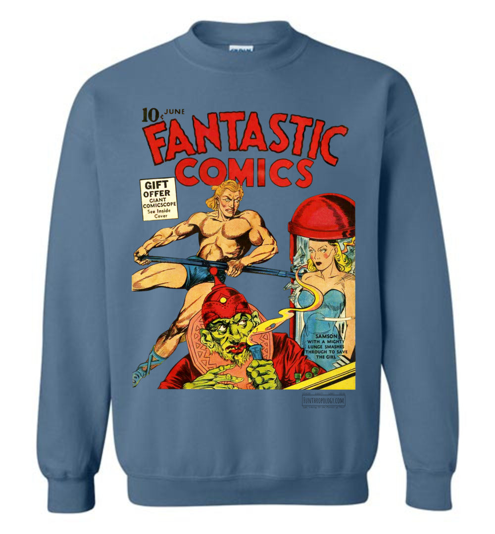 Fantastic Comics No.7 Sweatshirt (Unisex, Light Colors)