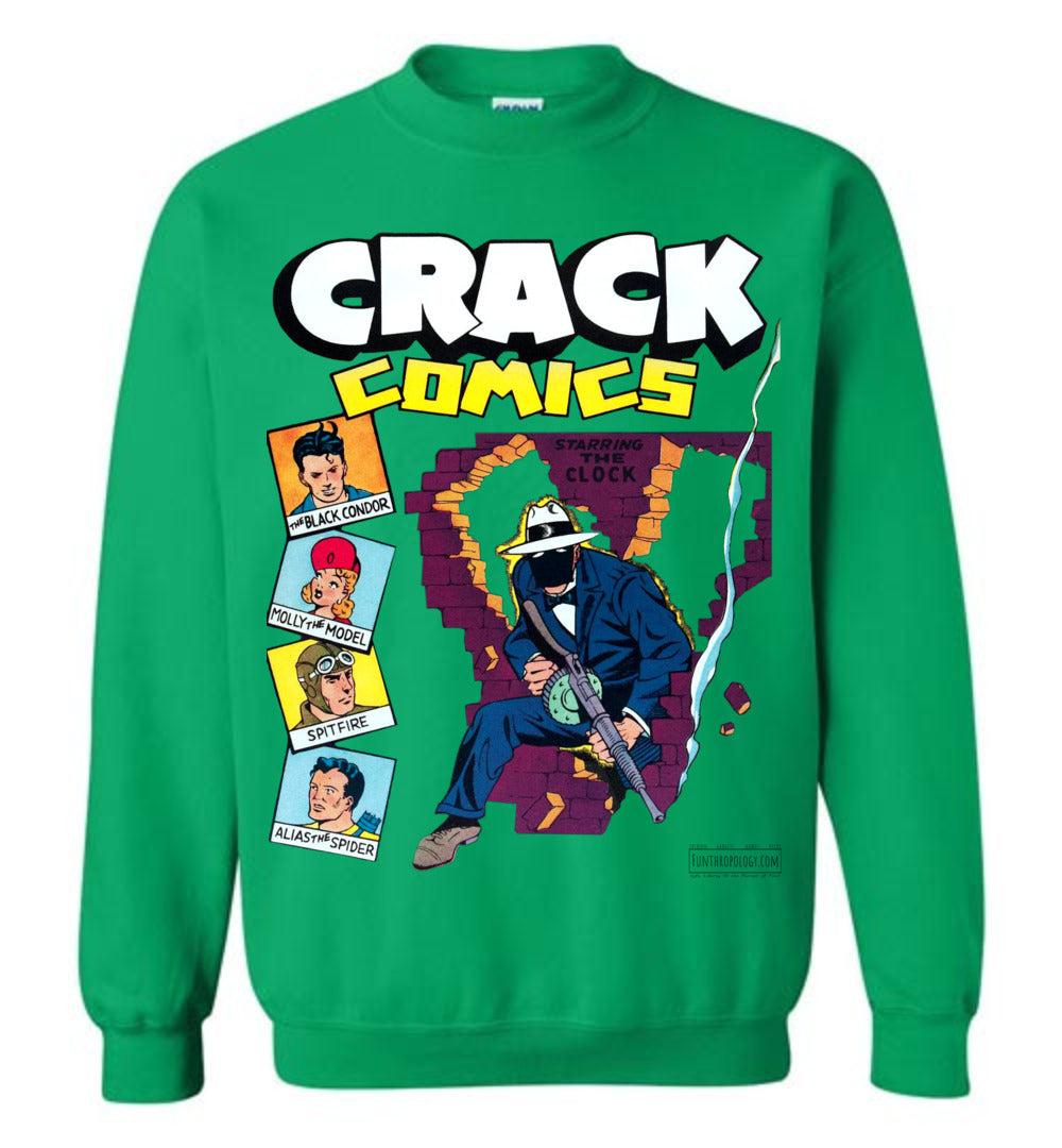Crack Comics No.19 Sweatshirt (Unisex, Light Colors)