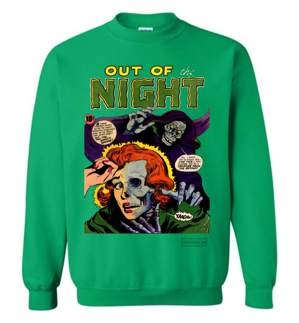Out Of The Night No.6 Sweatshirt (Unisex, Light Colors)