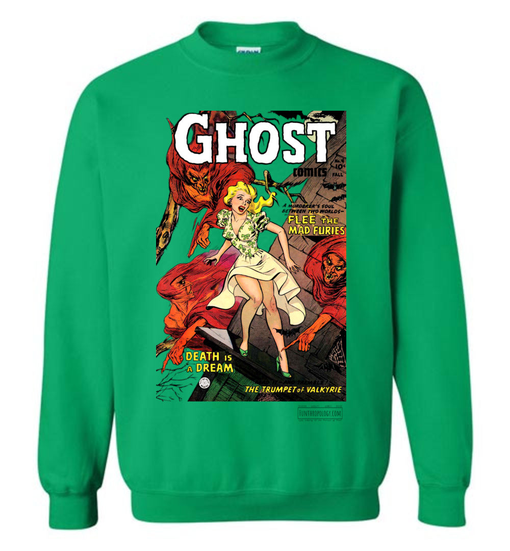 Ghost Comics No.4 Sweatshirt (Unisex, Light Colors)