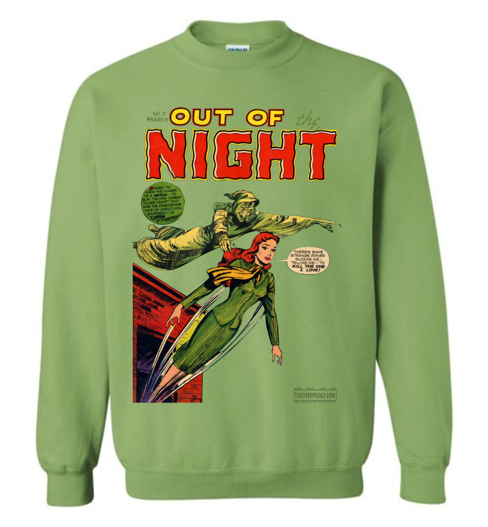 Out Of The Night No.7 Sweatshirt (Unisex, Light Colors)