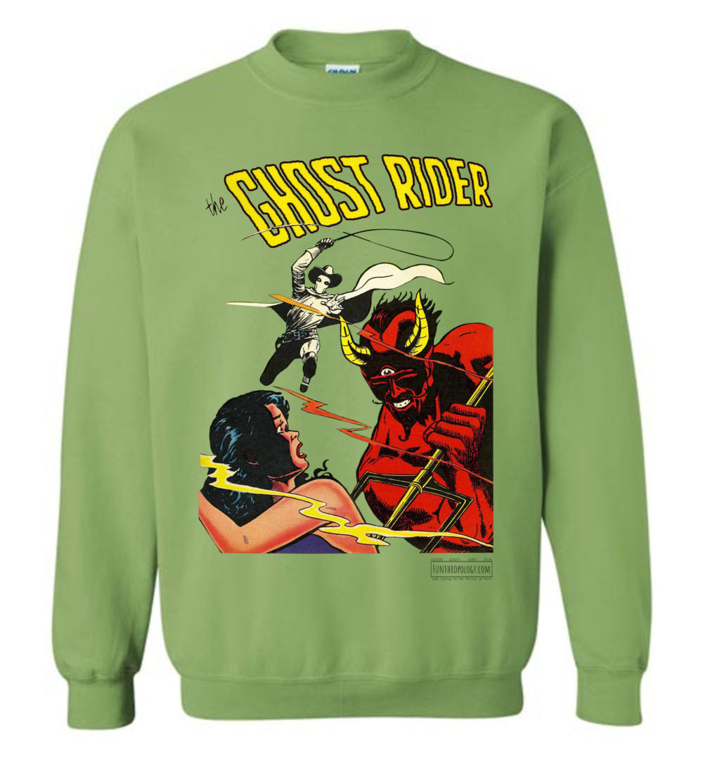The Ghost Rider No.12 Sweatshirt (Unisex Plus, Light Colors)