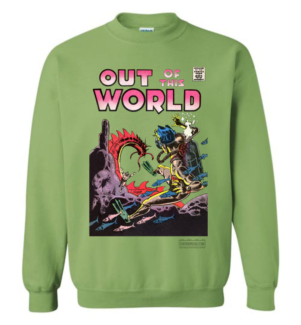 Out Of This World No.5 Sweatshirt (Unisex, Light Colors)