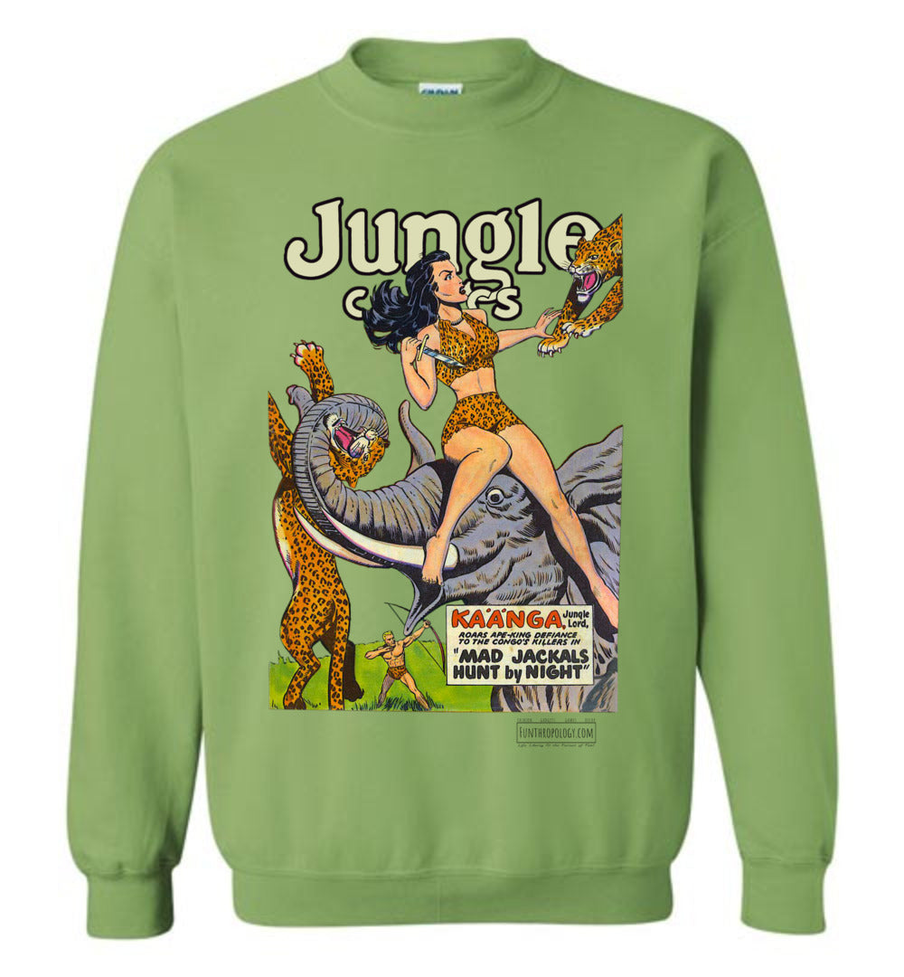 Jungle Comics No.114 Sweatshirt (Unisex, Light Colors)