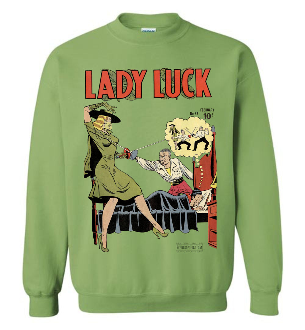 Lady Luck No.87 Sweatshirt (Unisex, Light Colors)