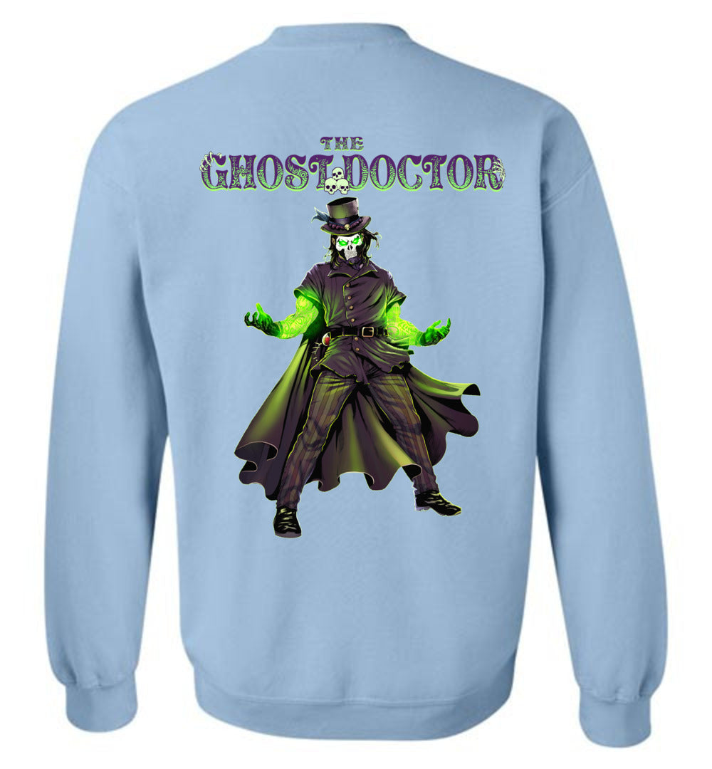 Capes & Chaos The Ghost Doctor Sweatshirt (Unisex)