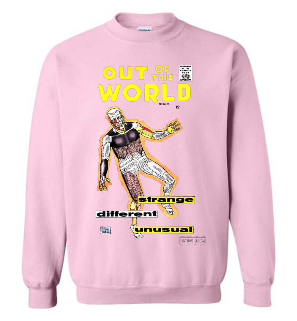 Out Of This World No.7 Sweatshirt (Unisex, Light Colors)