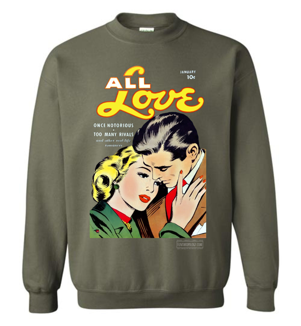 All Love No.30 Sweatshirt (Unisex, Dark Colors)