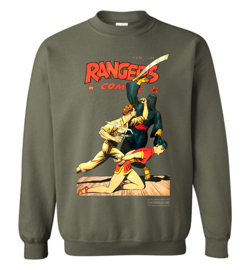 Rangers Comics No.21 Sweatshirt (Unisex, Dark Colors)