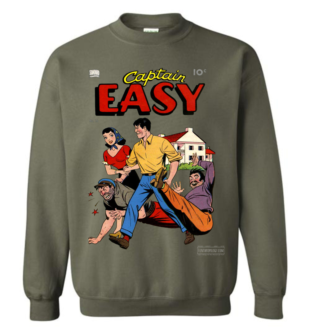Captain Easy No.16 Sweatshirt (Unisex, Dark Colors)