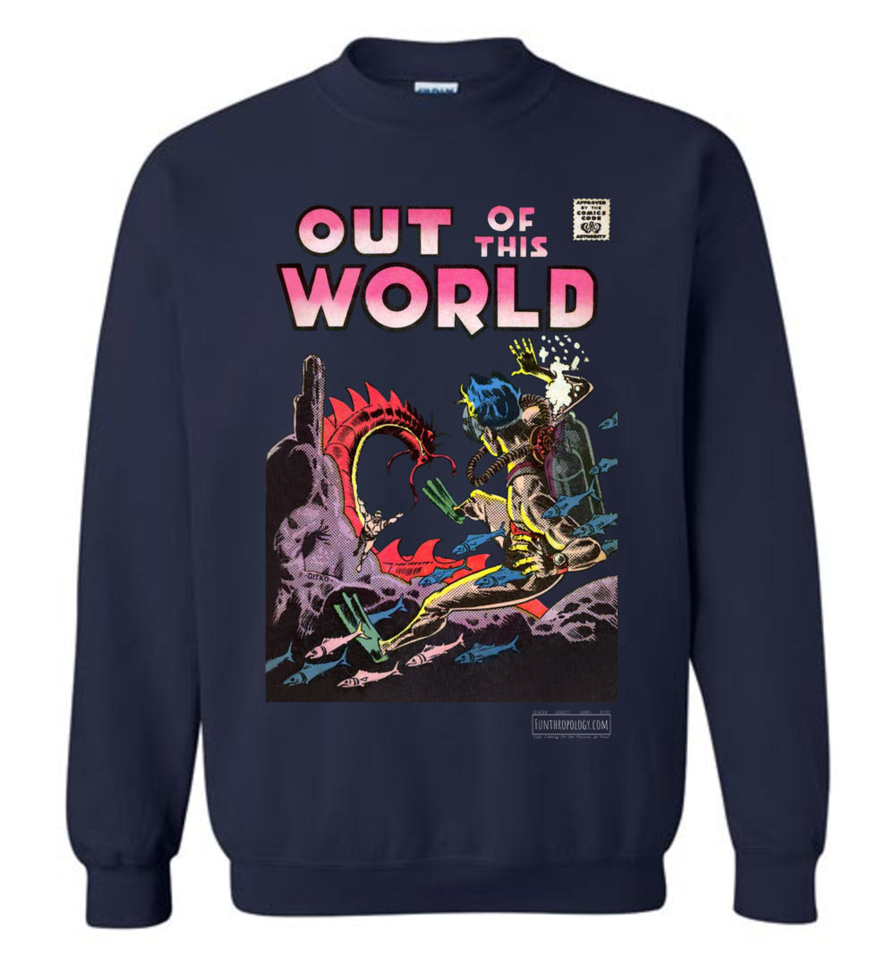 Out Of This World No.5 Sweatshirt (Unisex, Dark Colors)