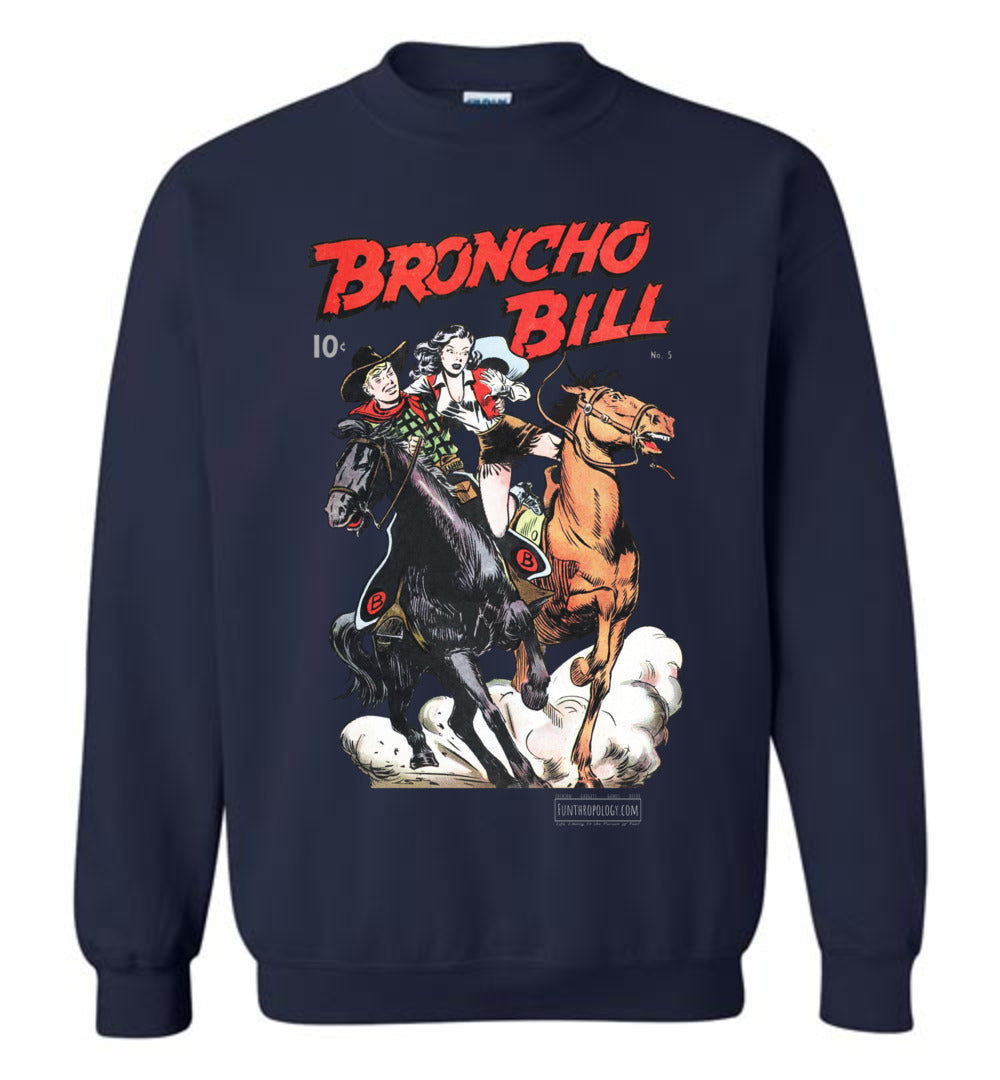 Broncho Bill No.5 Sweatshirt (Unisex, Dark Colors)