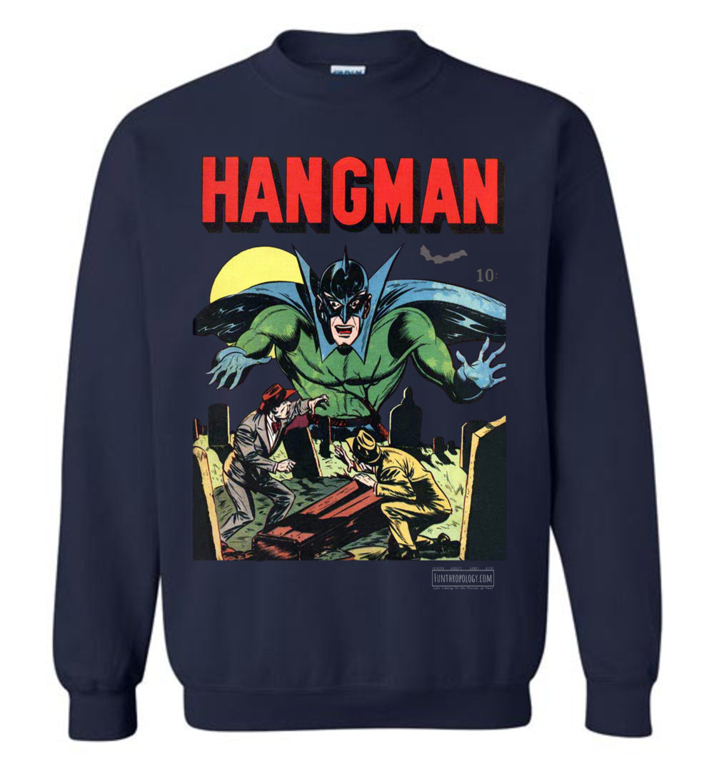 Hangman No.7 Sweatshirt (Unisex, Dark Colors)