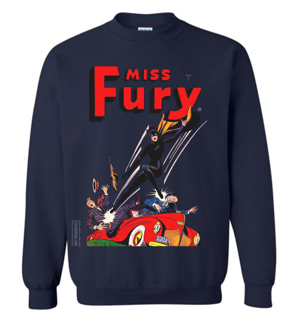 Miss Fury No.7 Sweatshirt (Youth, Dark Colors)