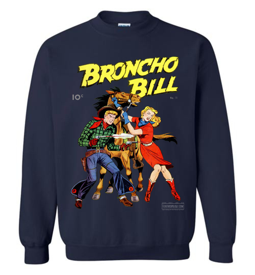 Broncho Bill No.11 Sweatshirt (Unisex, Dark Colors)