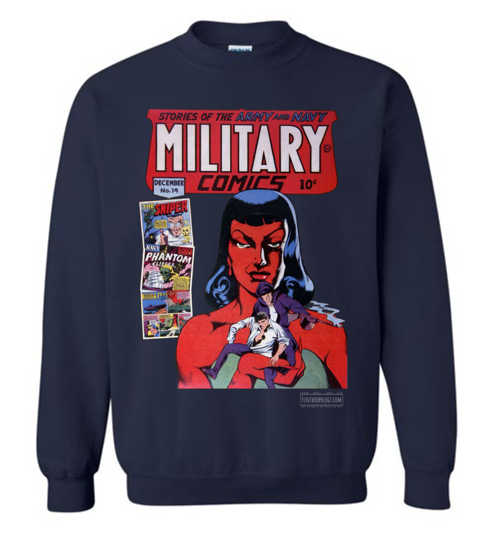 Military Comics No.14 Sweatshirt (Youth, Dark Colors)