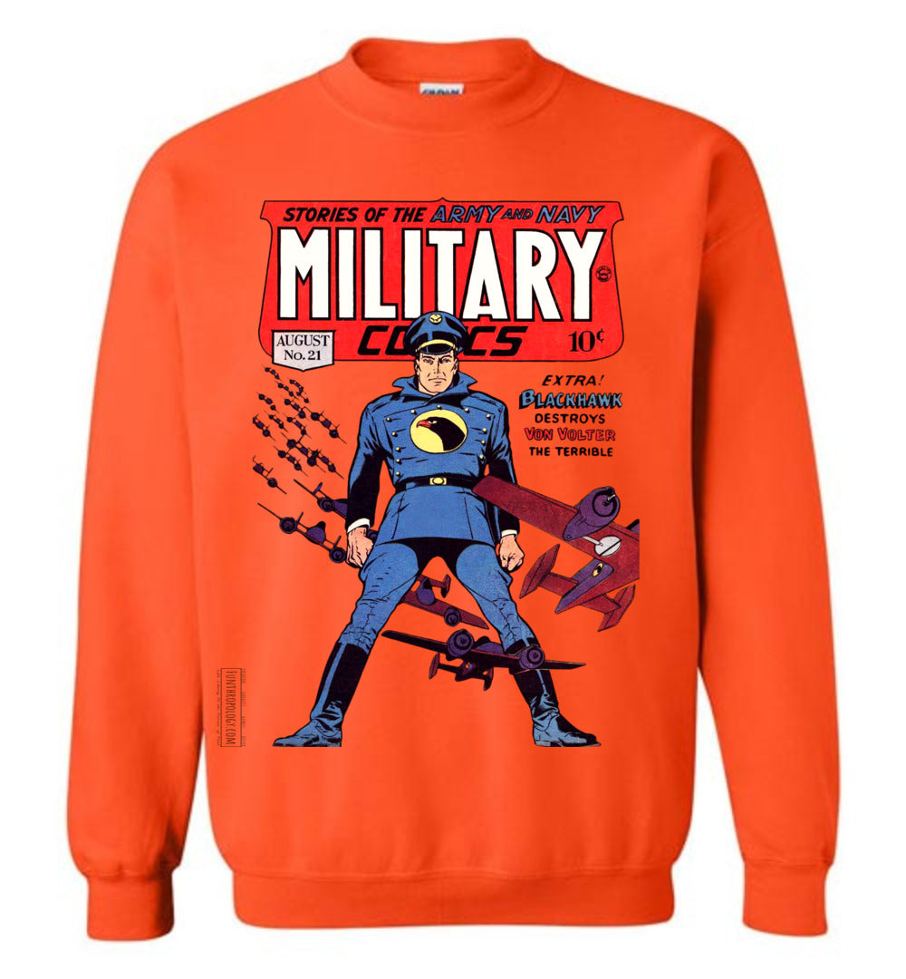 Military Comics No.21 Sweatshirt (Unisex, Light Colors)