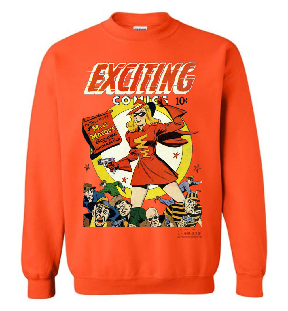Exciting Comics No.53 Sweatshirt (Unisex, Light Colors)