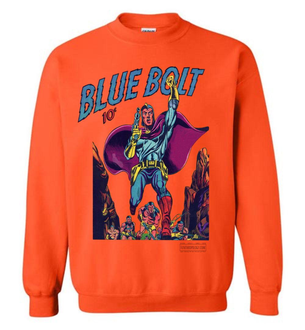 Blue Bolt No.3 Sweatshirt (Unisex, Light Colors)