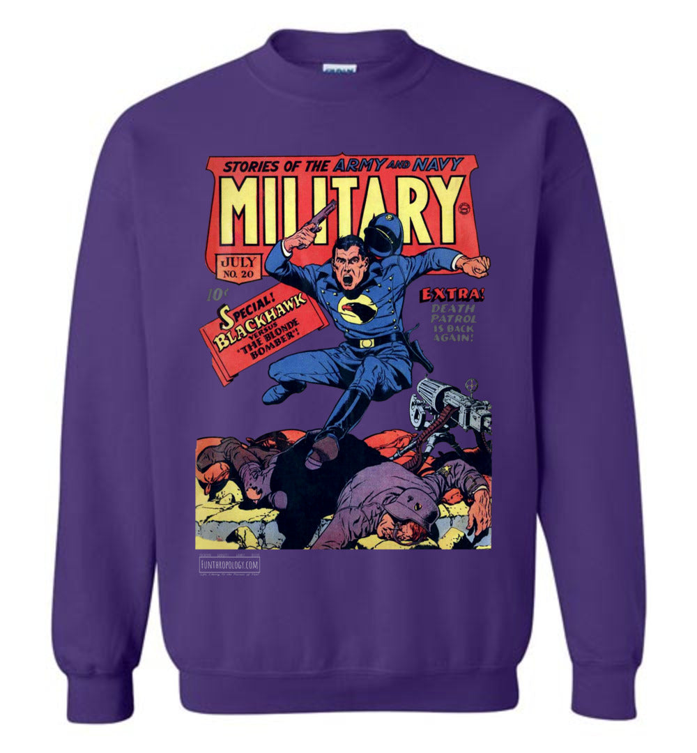 Military Comics No.20 Sweatshirt (Unisex, Dark Colors)