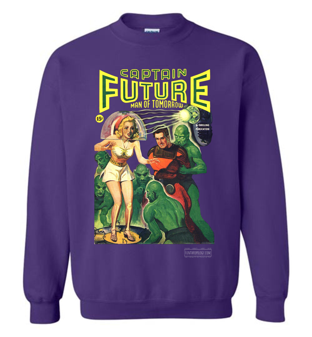Captain Future No.12 Sweatshirt (Unisex, Dark Colors)