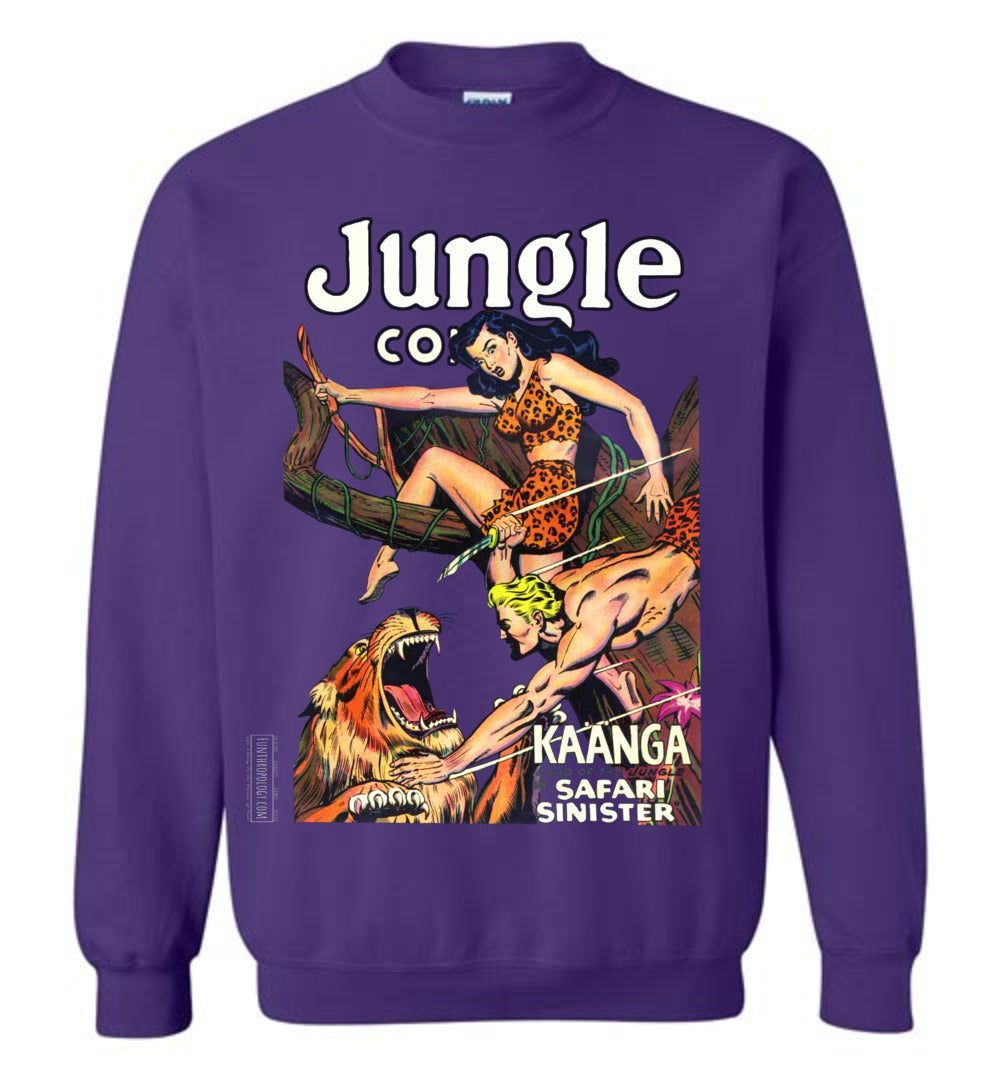 Jungle Comics No.126 Sweatshirt (Unisex, Dark Colors)