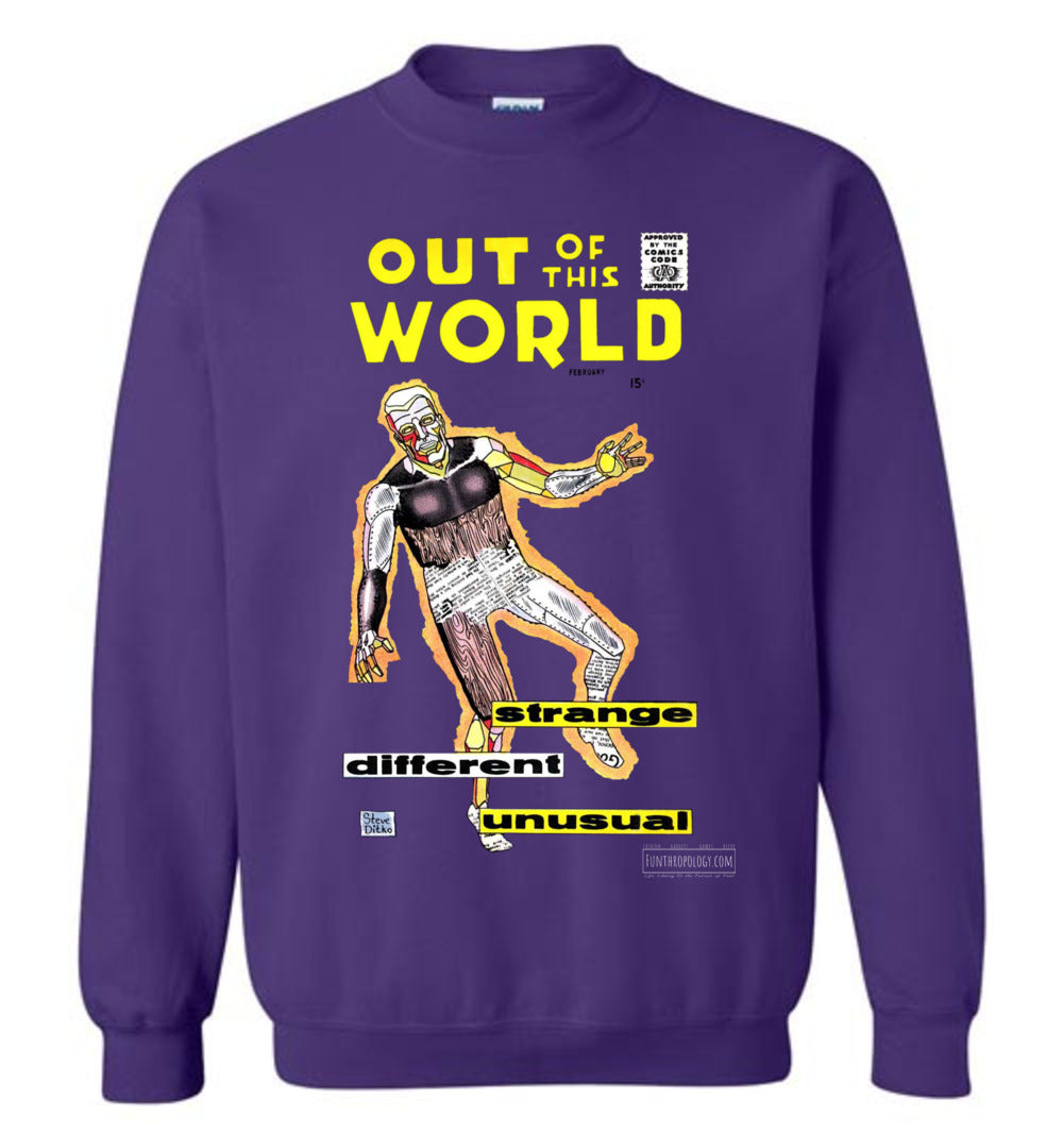 Out Of This World No.7 Sweatshirt (Unisex, Dark Colors)
