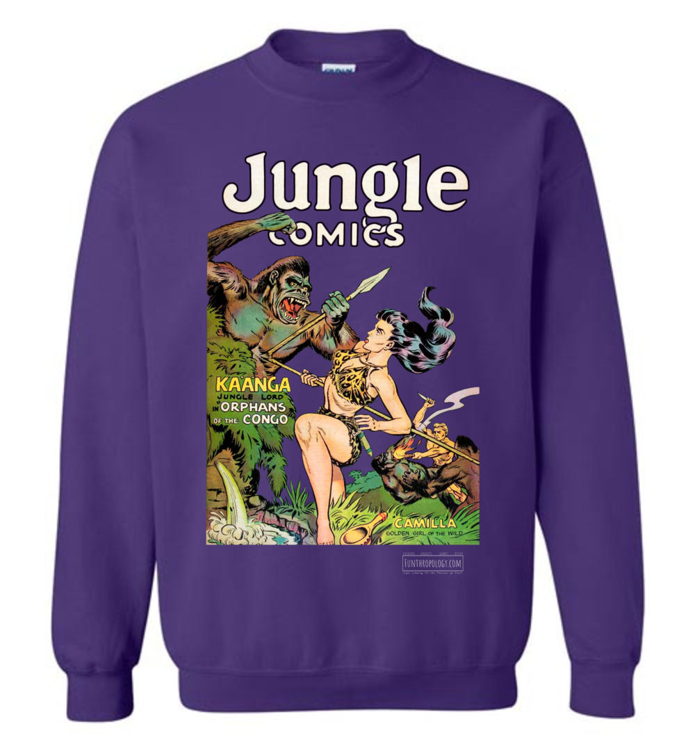 Jungle Comics No.146 Sweatshirt (Unisex, Dark Colors)