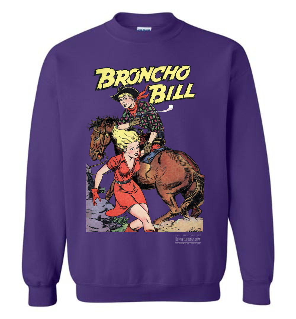 Broncho Bill No.6 Sweatshirt (Unisex, Dark Colors)