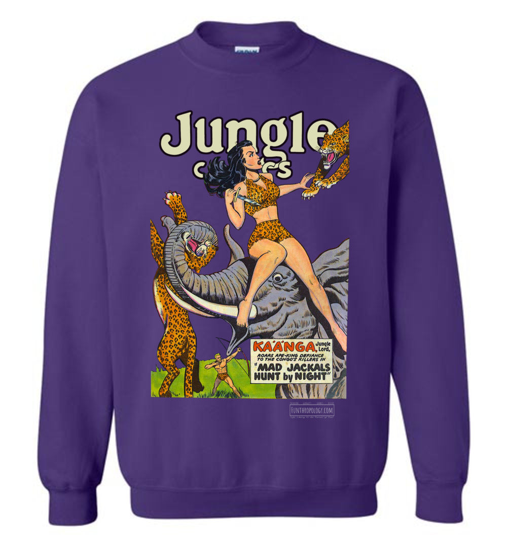 Jungle Comics No.114 Sweatshirt (Unisex, Dark Colors)