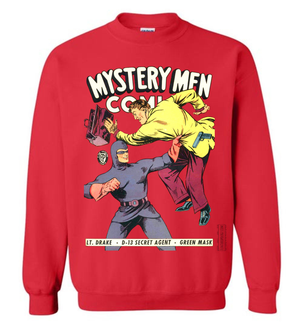 Mystery Men Comics No.18 Sweatshirt (Youth, Light Colors)