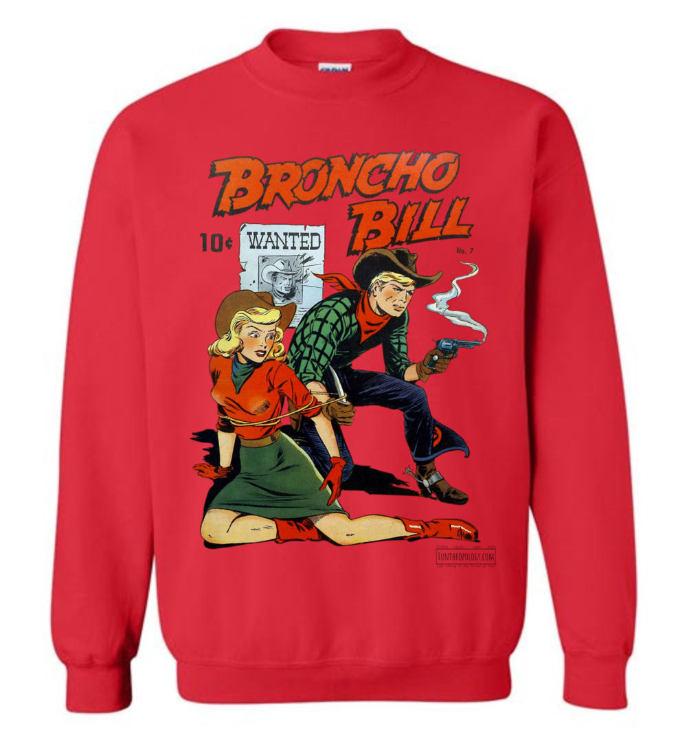 Broncho Bill No.7 Sweatshirt (Unisex, Light Colors)