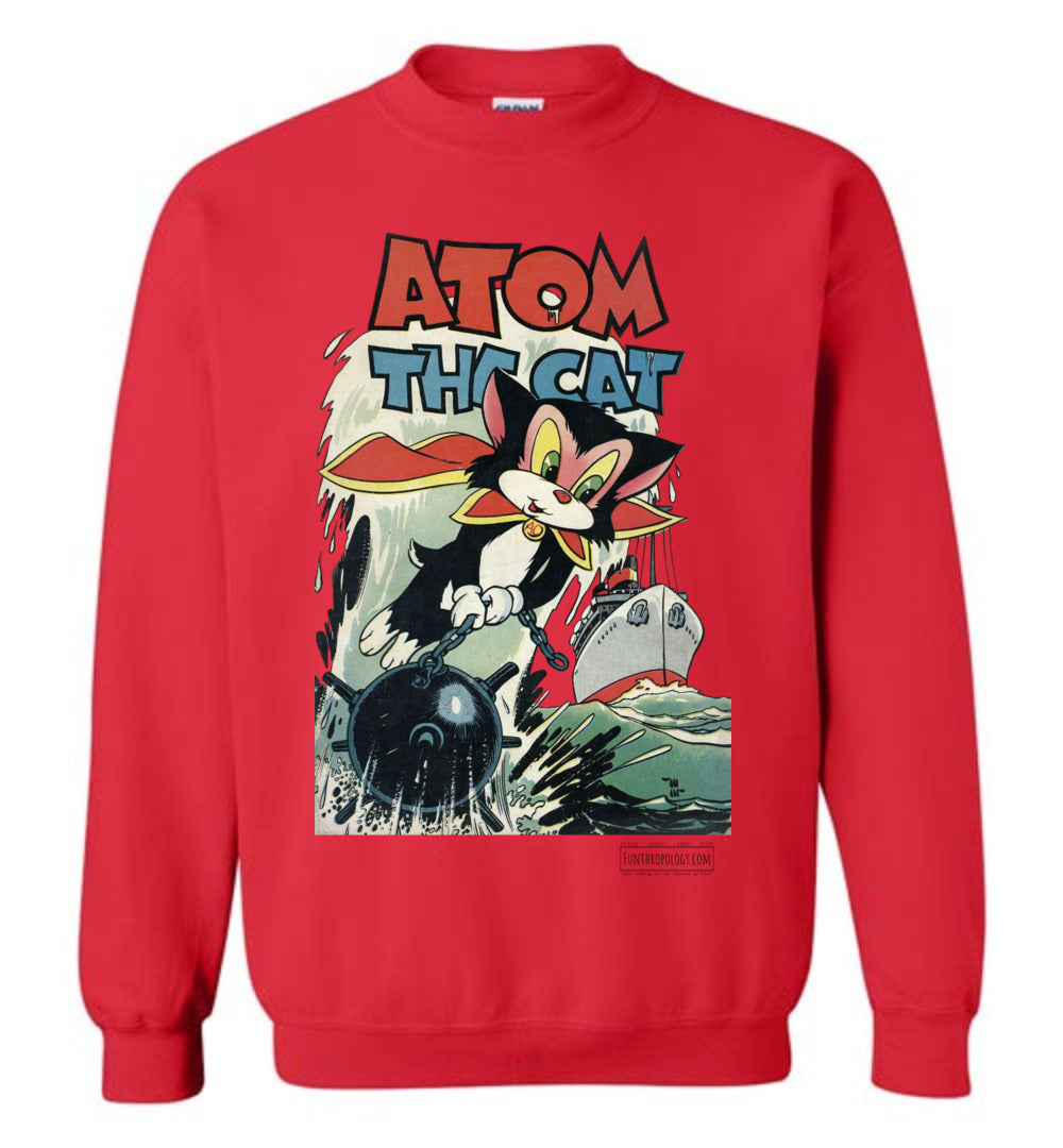 Atom The Cat No.10 Sweatshirt (Youth, Light Colors)