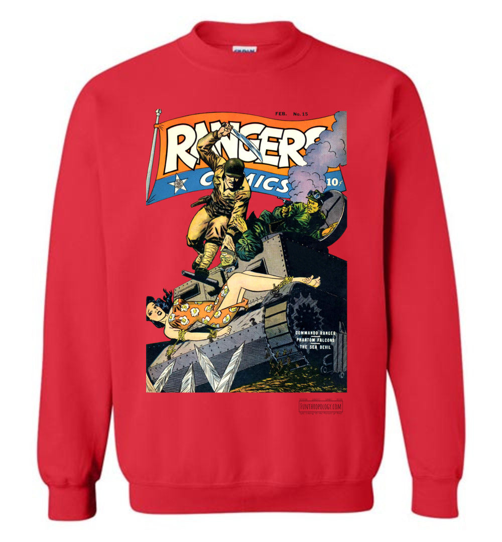Rangers Comics No.15 Sweatshirt (Unisex, Light Colors)