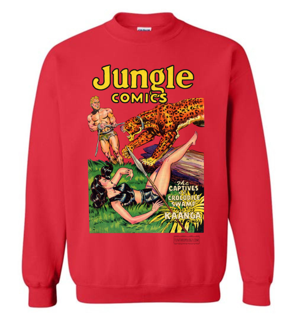 Jungle Comics No.129 Sweatshirt (Unisex, Light Colors)
