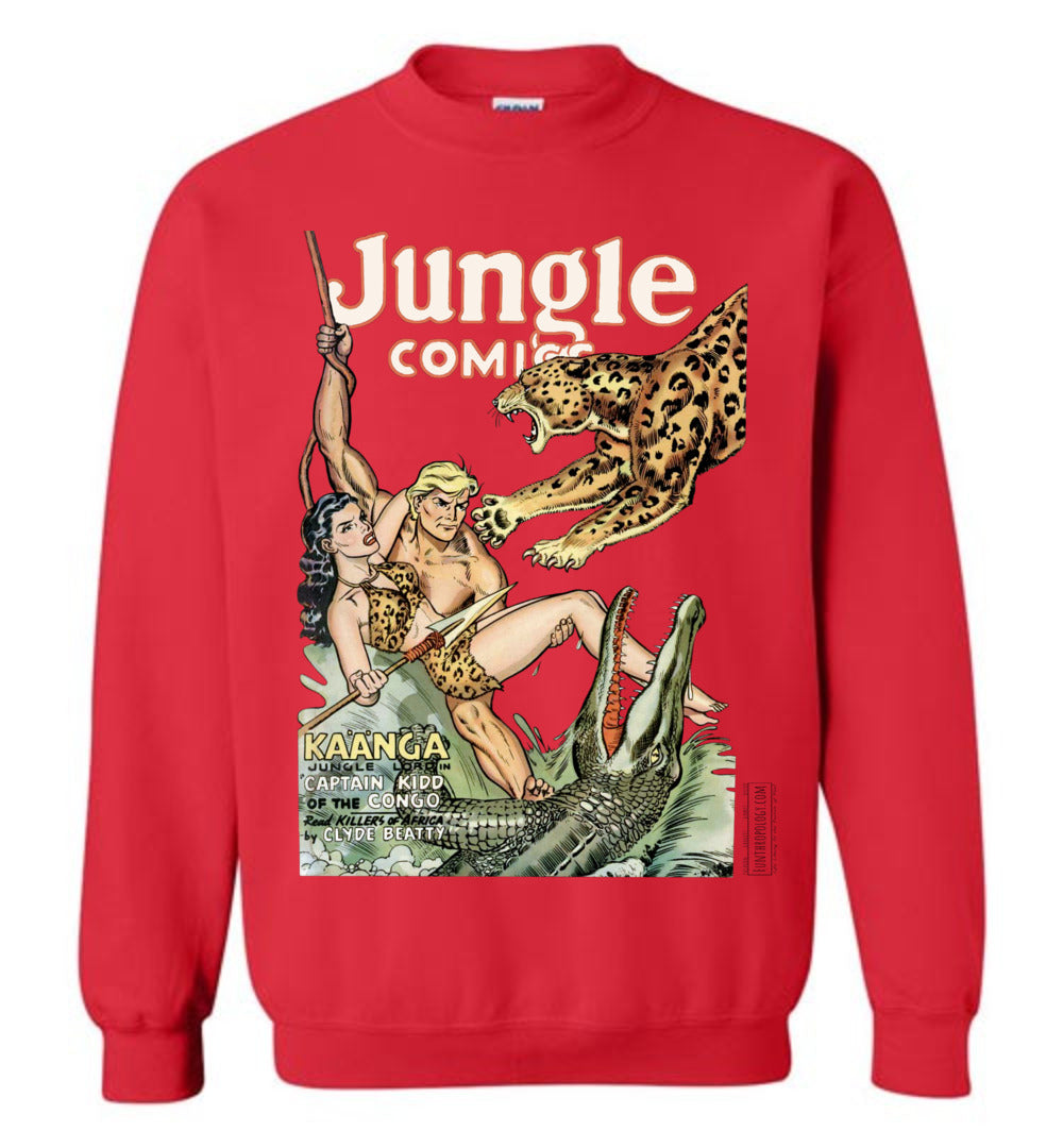 Jungle Comics No.139 Sweatshirt (Unisex, Light Colors)