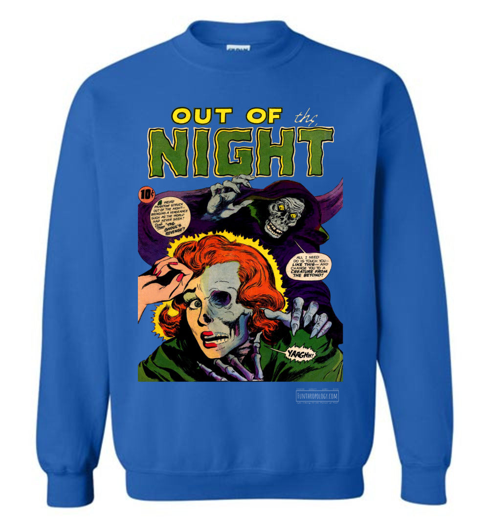 Out Of The Night No.6 Sweatshirt (Unisex, Dark Colors)