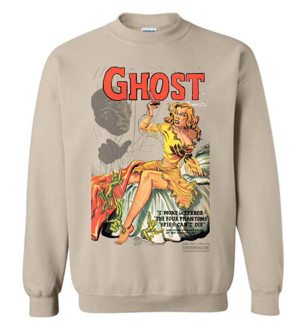Ghost Comics No.2 Sweatshirt (Unisex, Light Colors)