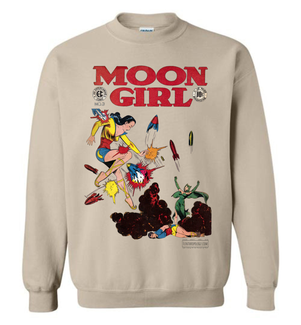 Moon Girl No.3 Sweatshirt (Unisex, Light Colors)