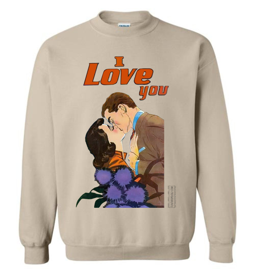 I Love You No.47 Sweatshirt (Unisex, Light Colors)