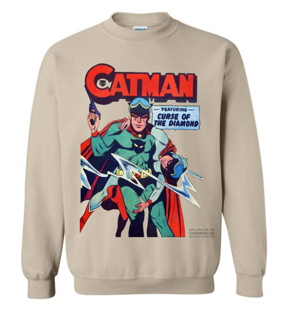 Catman No.16 Sweatshirt (Unisex, Light Colors)