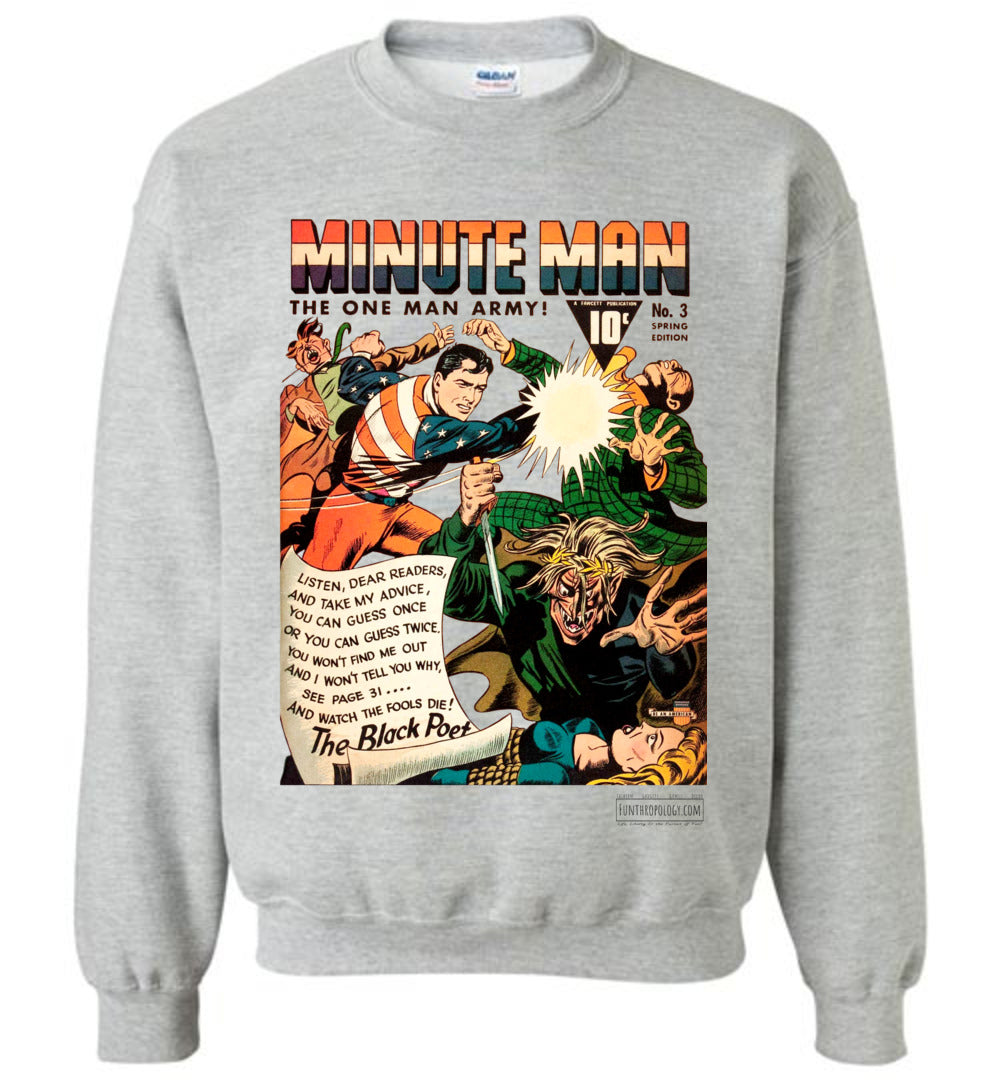 Minute Man No.3 Sweatshirt (Youth, Light Colors)