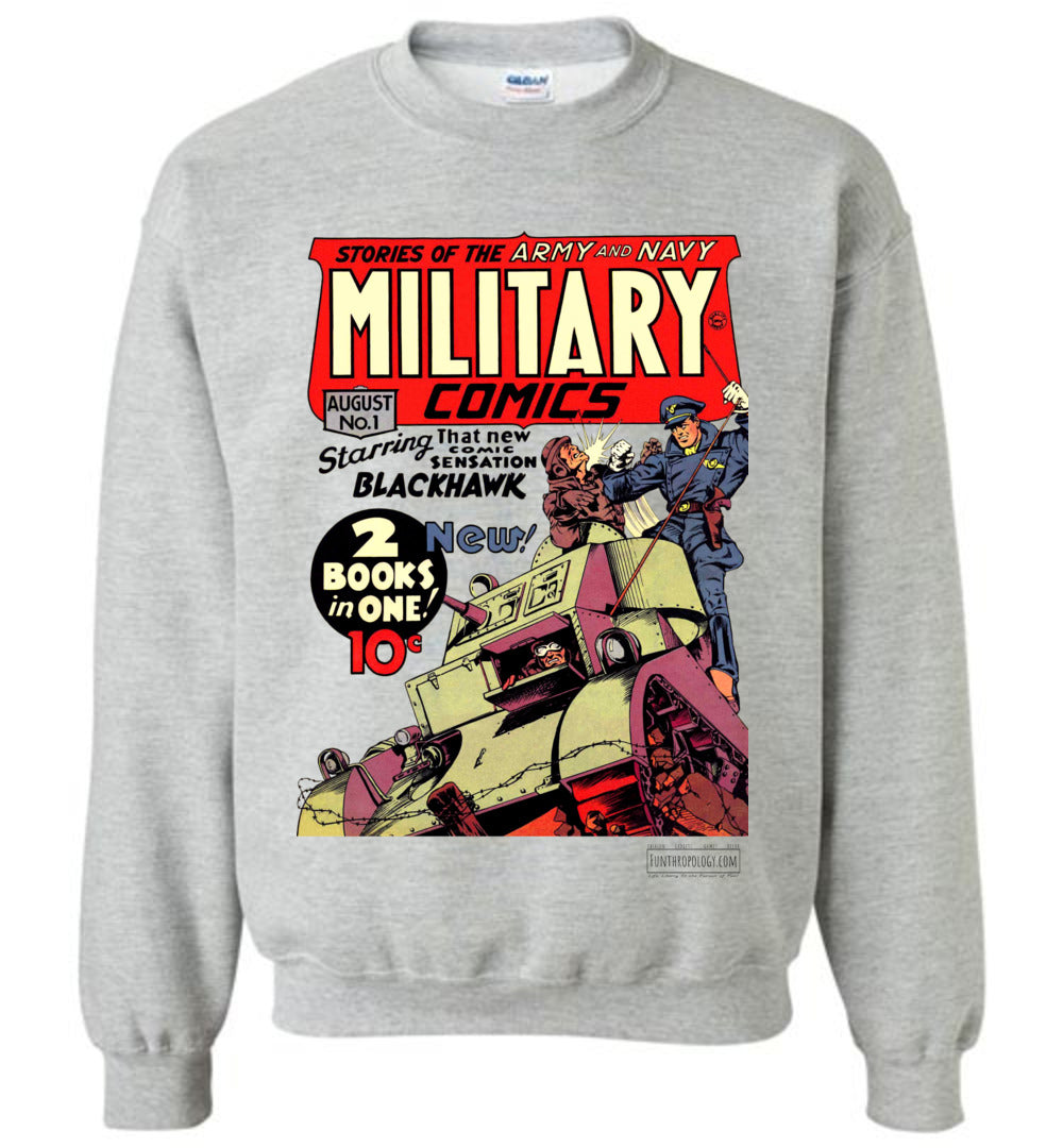 Military Comics No.1 Sweatshirt (Youth, Light Colors)