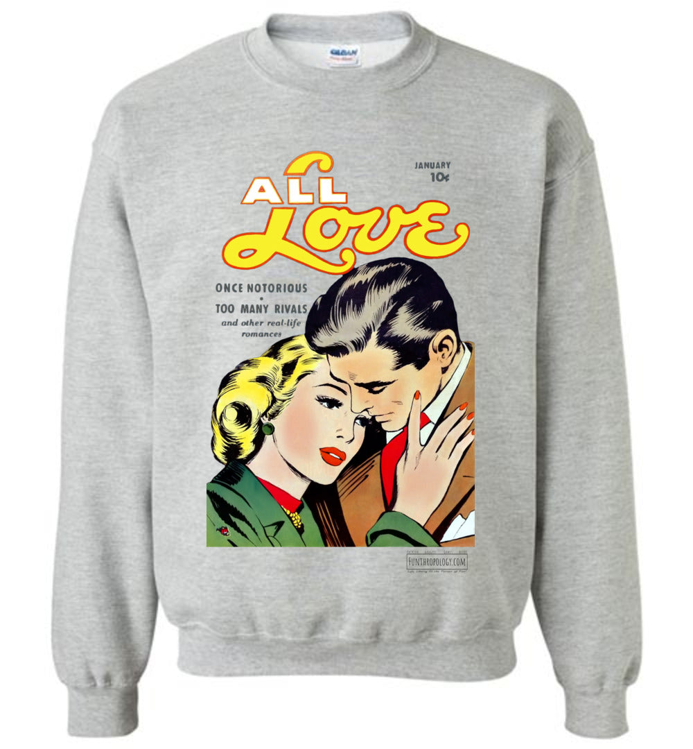 All Love No.30 Sweatshirt (Youth, Light Colors)