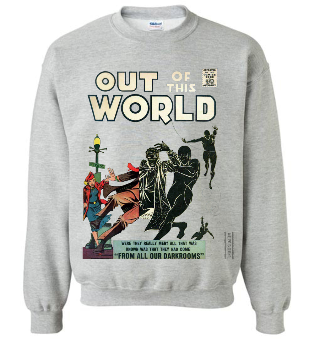 Out Of This World No.4 Sweatshirt (Unisex, Light Colors)