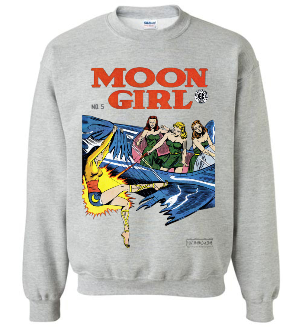 Moon Girl No.5 Sweatshirt (Unisex, Light Colors)