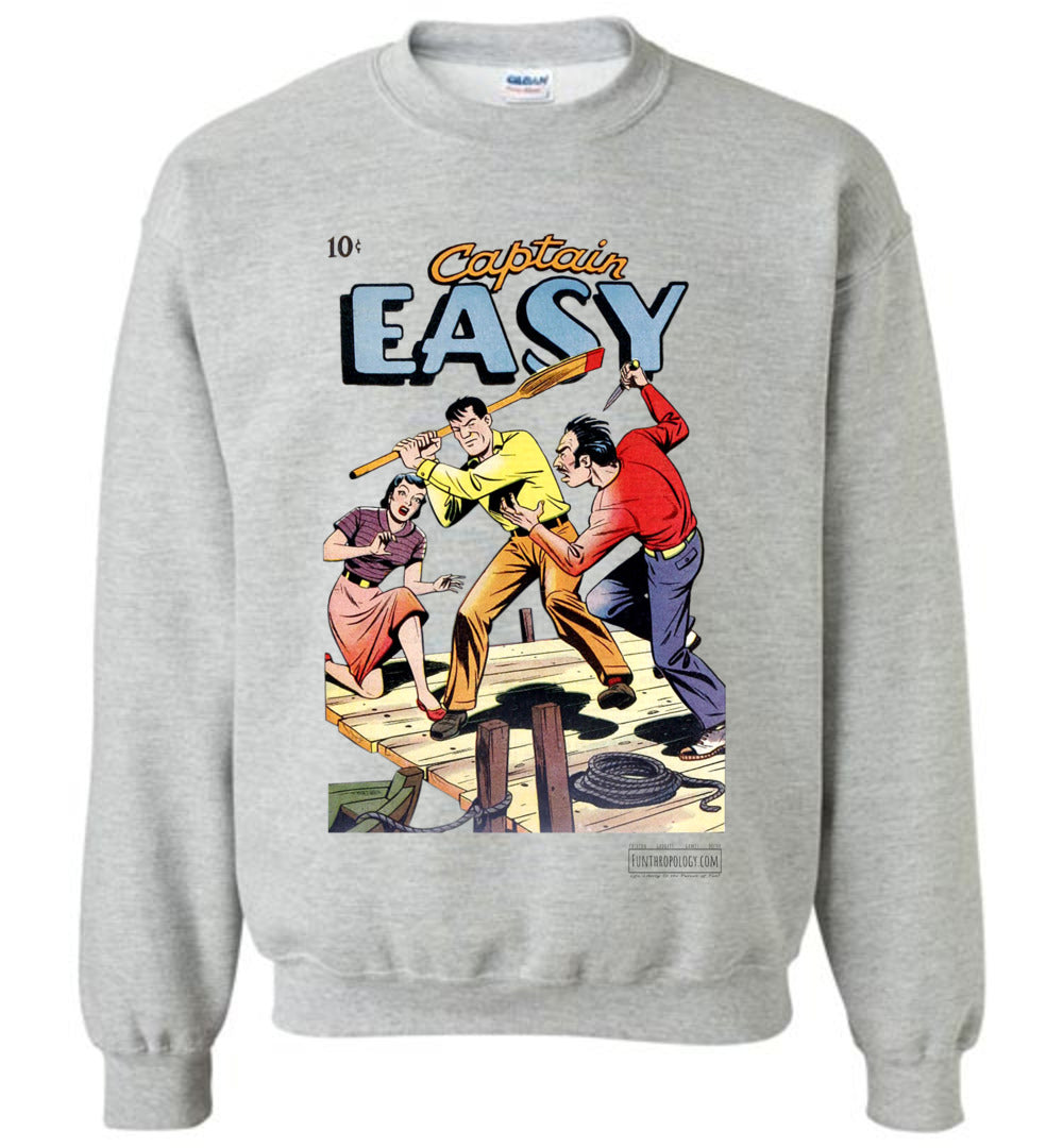 Captain Easy No.15 Sweatshirt (Unisex, Light Colors)